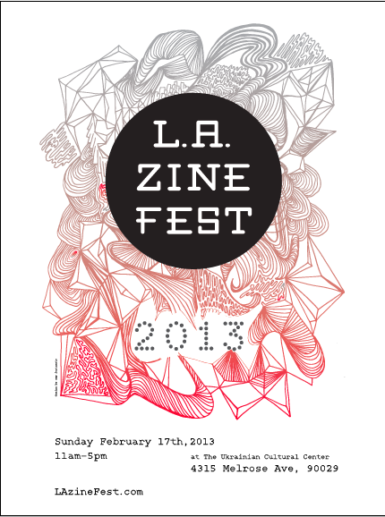 Poster Design by Amy Fortunato // available online at http://lazinefest.com/fliers/#jp-carousel-2045