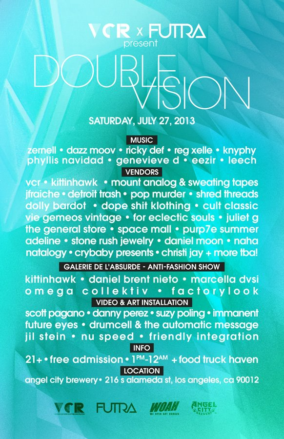Double Vision Flyer - Featuring