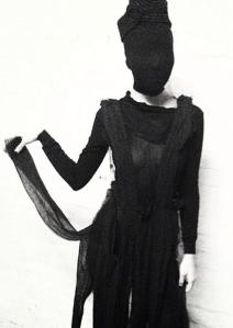 MARCELLA DVSI at Galerie De L'Absurde/Anti-Fashion Show // Dress & Photo: Bo Matthew Metz // Model: Michelene Cha