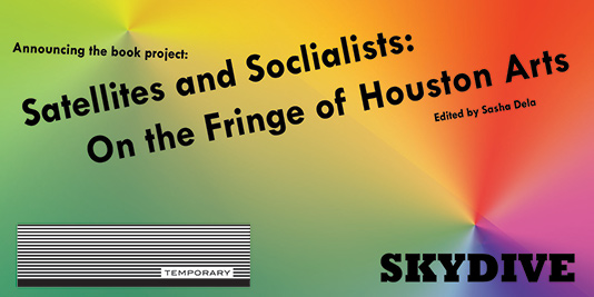 Published by Skydive Art Space in partnership with Temporary Art Review Sponsored by a grant from the Elizabeth Firestone Graham Foundation Coming Soon!
