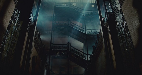Bradbury Bradbury building in Blade Runner | in Los Angeles Plays Itself